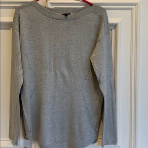 Beautiful gray and silver sweater from Talbots